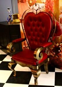 女王の椅子