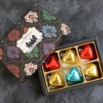 ボックス入りハートチョコレート6個/580円+税