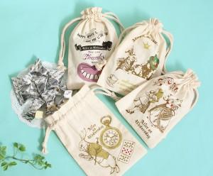 巾着入りチョコレート500円+税(生ホワイトショコラ)