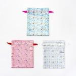 サテン巾着/各1,000円+税